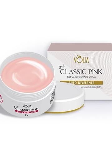 Detalhes do produto Gel Classic Pink Vólia 24g