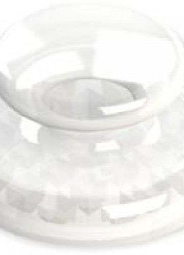 Detalhes do produto BOTÃO LINGUAL TRANSPARENTE